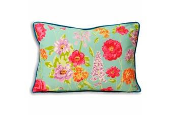 Riva Home Kew Cushion Cover (Aqua) (35x50cm)
