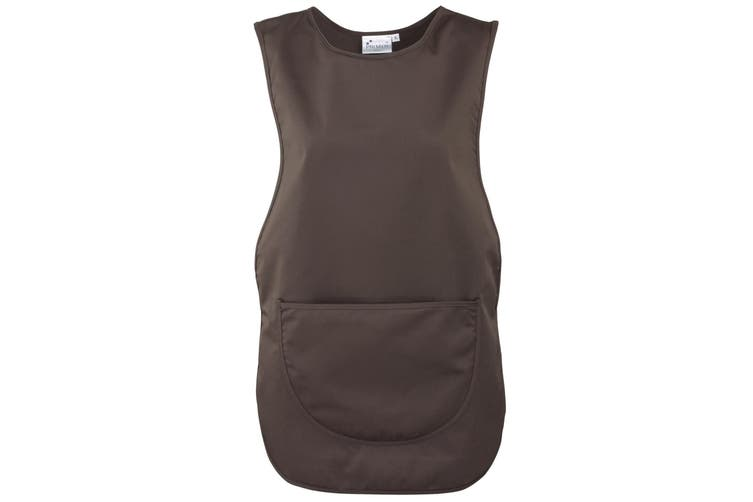 Premier Ladies/Womens Pocket Tabard / Workwear (Brown) (M)