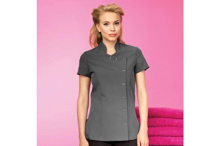 Premier Womens/Ladies *Orchid* Tunic / Health Beauty & Spa / Workwear (Dark Grey) (6)