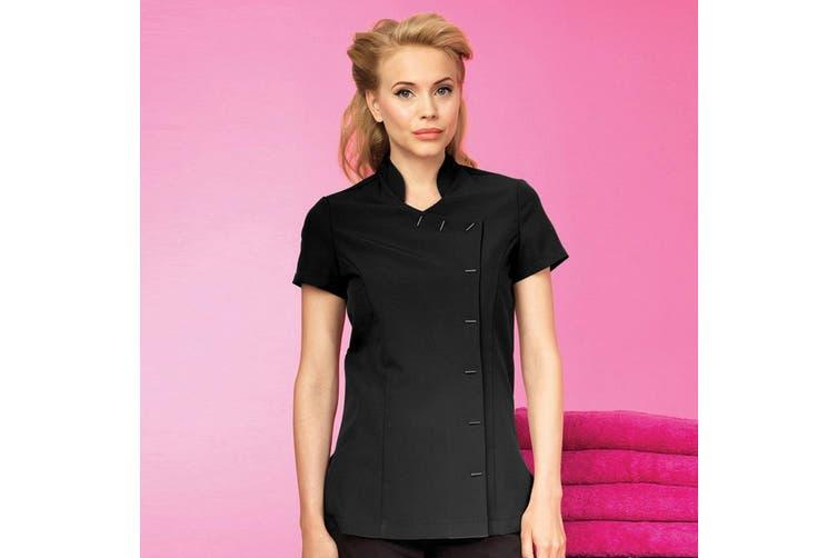 Premier Womens/Ladies *Orchid* Tunic / Health Beauty & Spa / Workwear (Black) (14)