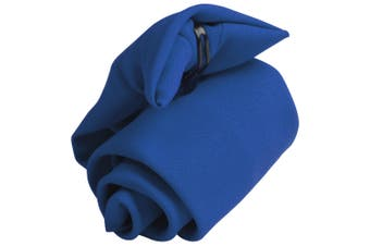 Premier Tie - Mens Plain Workwear Clip On Tie (Royal) (One Size)