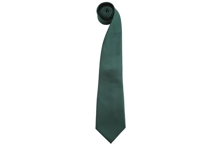 "Premier Mens Fashion ""Colours"" Work Clip On Tie (Bottle) (One Size)"