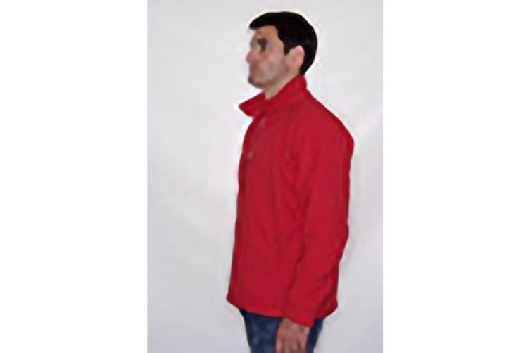 Regatta Mens Thor III Anti-Pill Fleece Jacket (Classic Red) (XS)