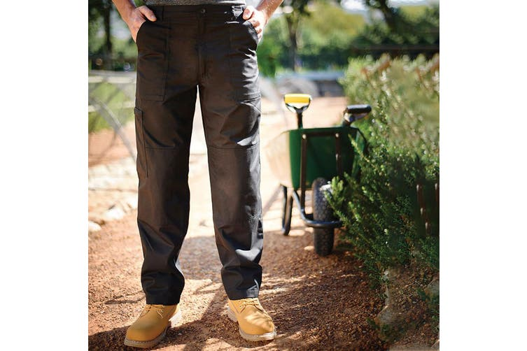 Regatta Mens Sports New Action Trousers (Dark Grey) (40 x Short)