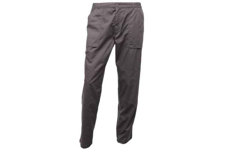 Regatta Mens Sports New Action Trousers (Dark Grey) (32 x Short)