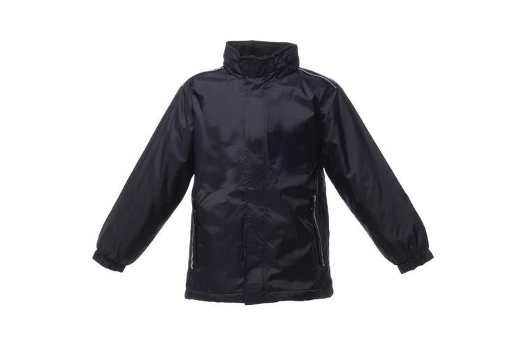 Regatta Kids Unisex 250 Series Fleece Lined Fresher Jacket (Black) (3-4)