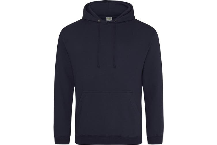 Awdis Unisex College Hooded Sweatshirt / Hoodie (New French Navy) (XL)