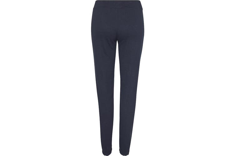 Awdis Girlie Ladies Cuffed Jogging Bottoms / Sweatpants (New French Navy) (M)