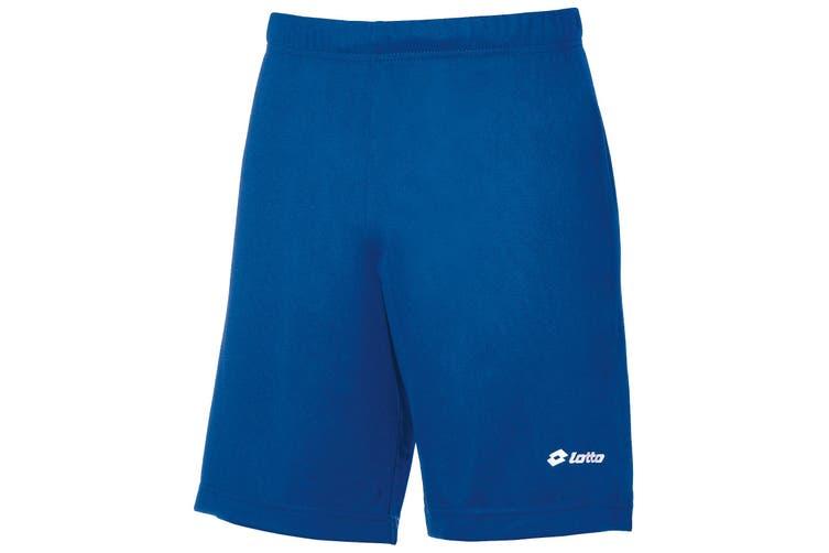 Lotto Boys Football Omega Sports Short (Royal) (SB)