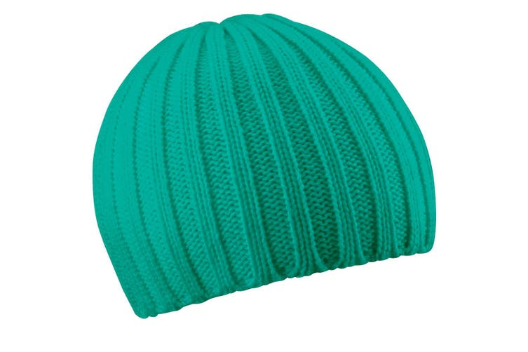Beechfield Ladies/Womens Chunky Knit Winter Beanie Hat (Turquoise) (One Size)
