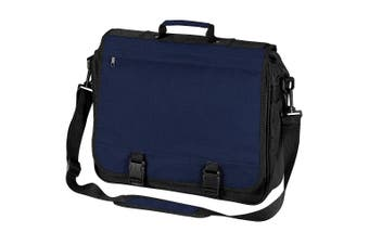 BagBase Portfolio Briefcase Bag (French Navy) (One Size)