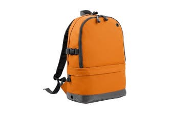 BagBase Backpack / Rucksack Bag (18 Litres Laptop Up To 15.6 Inch) (Orange) (One Size)