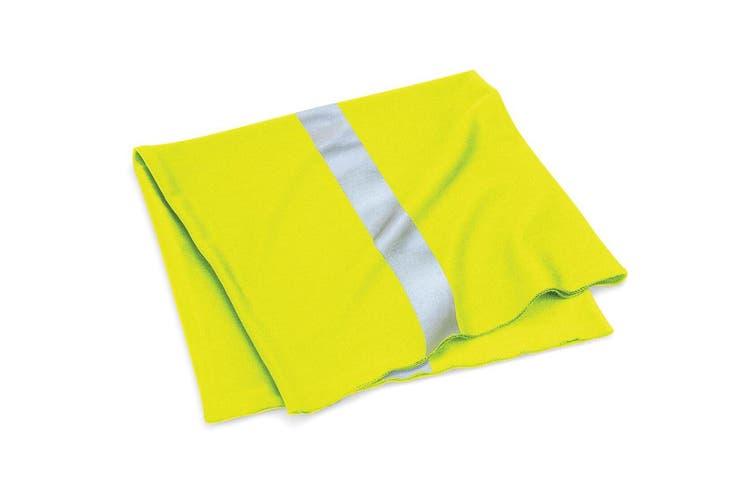 Beechfield Unisex Multi-use Enhanced-Vis Morf (Fluorescent Pink) (One Size)