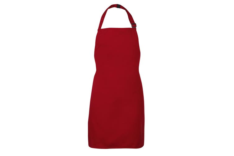 Maddins Kids/Childrens Bib Apron (Burgundy) (Infant)