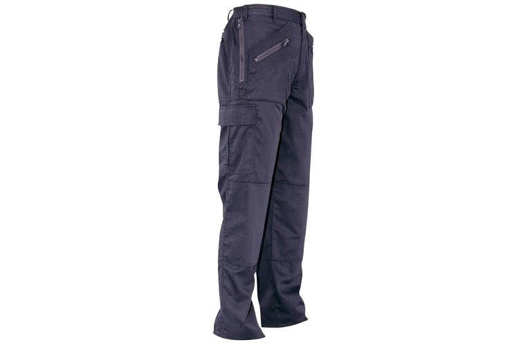 Portwest Womens/Ladies Action Work Trousers / Pant (Navy) (Medium x Regular)