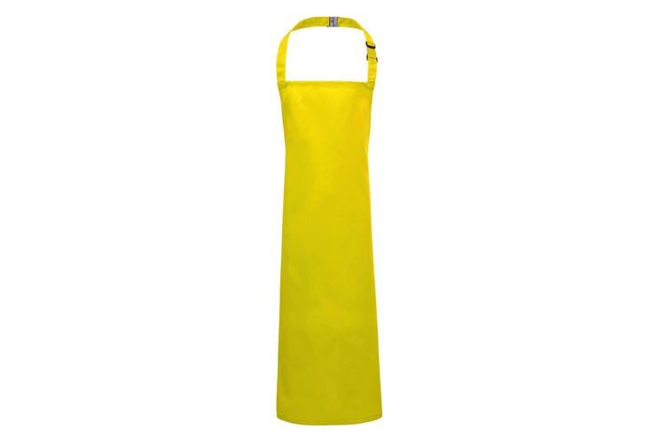 Premier Childrens/Kids Bib Apron (Yellow) (Junior)