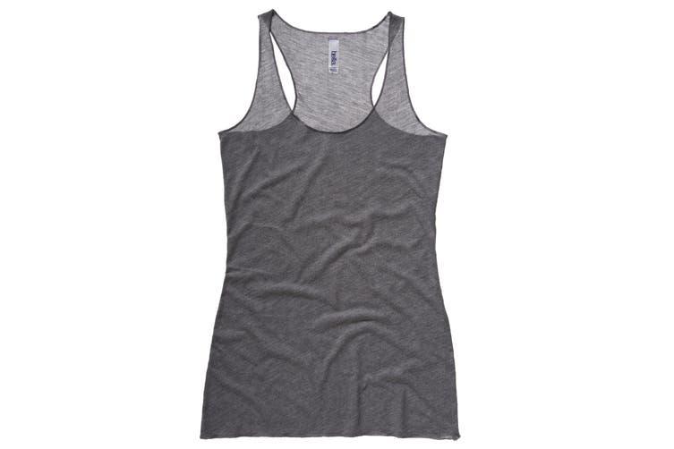 Bella + Canvas Womens/Ladies Triblend Racerback Tank Vest Top (Grey Triblend) (M)