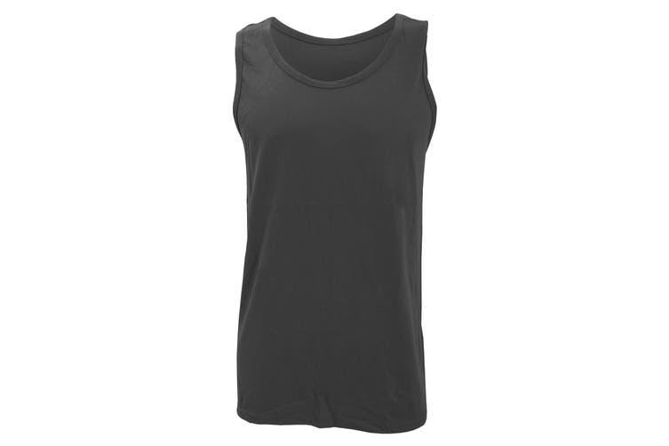 Gildan Mens Softstyle® Tank Vest Top (Charcoal) (S)