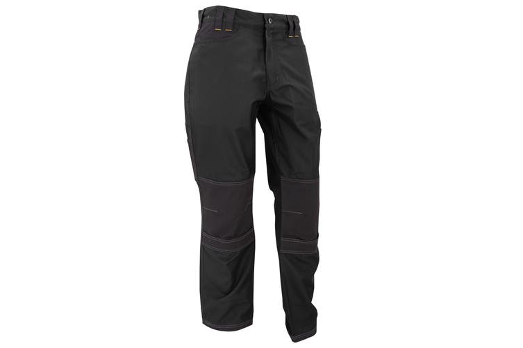 Regatta Mens Holster Workwear Trousers (Short, Regular And Long) (Black) (36L)