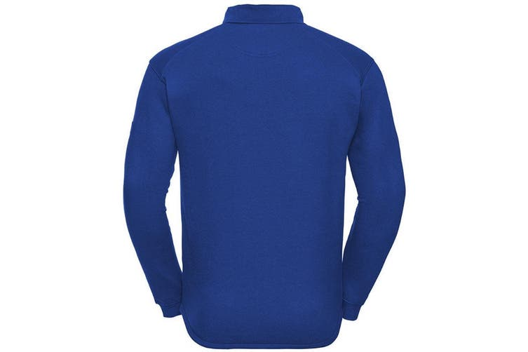 Russell Europe Mens Heavy Duty Collar Sweatshirt (Bright Royal) (3XL)