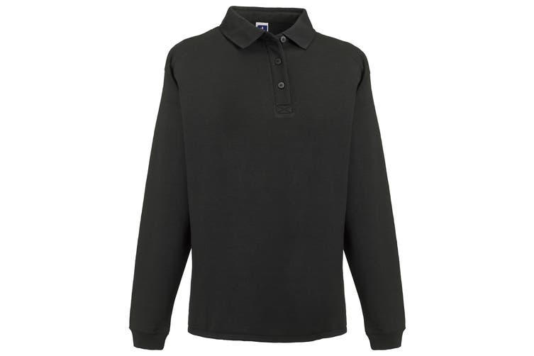 Russell Europe Mens Heavy Duty Collar Sweatshirt (Black) (4XL)