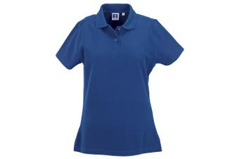 Russell Europe Womens/Ladies Ultimate Classic Cotton Short Sleeve Polo Shirt (Bright Royal) (XS)