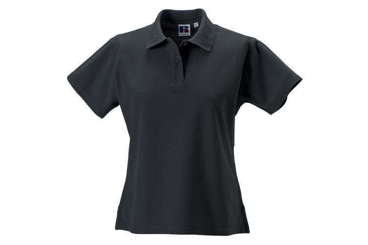 Russell Europe Womens/Ladies Ultimate Classic Cotton Short Sleeve Polo Shirt (Titanium) (XL)