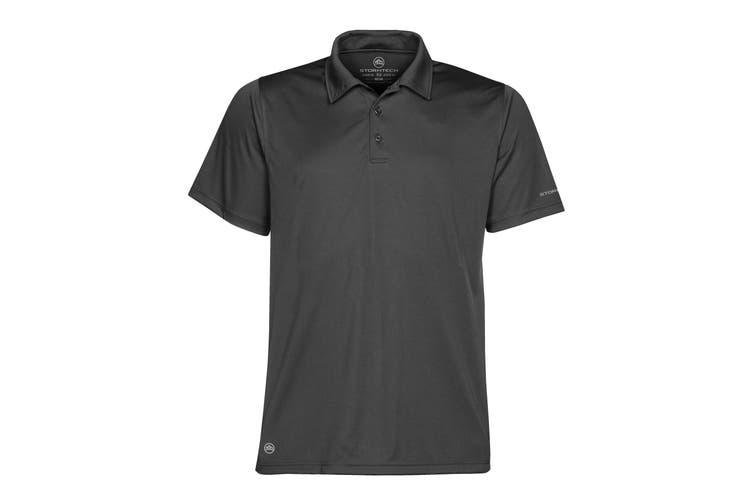 Stormtech Mens Short Sleeve Sports Performance Polo Shirt (Graphite) (XL)
