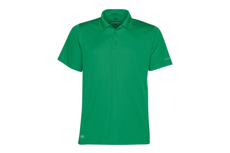 Stormtech Mens Short Sleeve Sports Performance Polo Shirt (Kelly Green) (L)