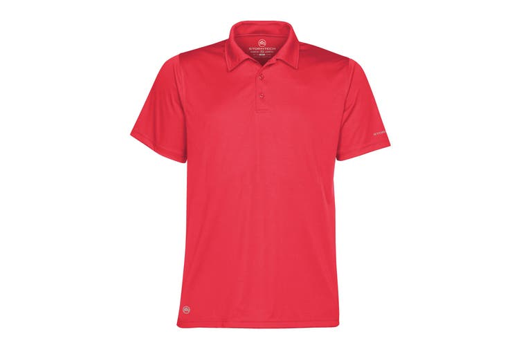 Stormtech Mens Short Sleeve Sports Performance Polo Shirt (Scarlet Red) (2XL)