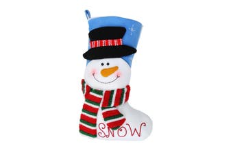 Christmas Shop Bright Character Stocking (Snowman) (One Size)