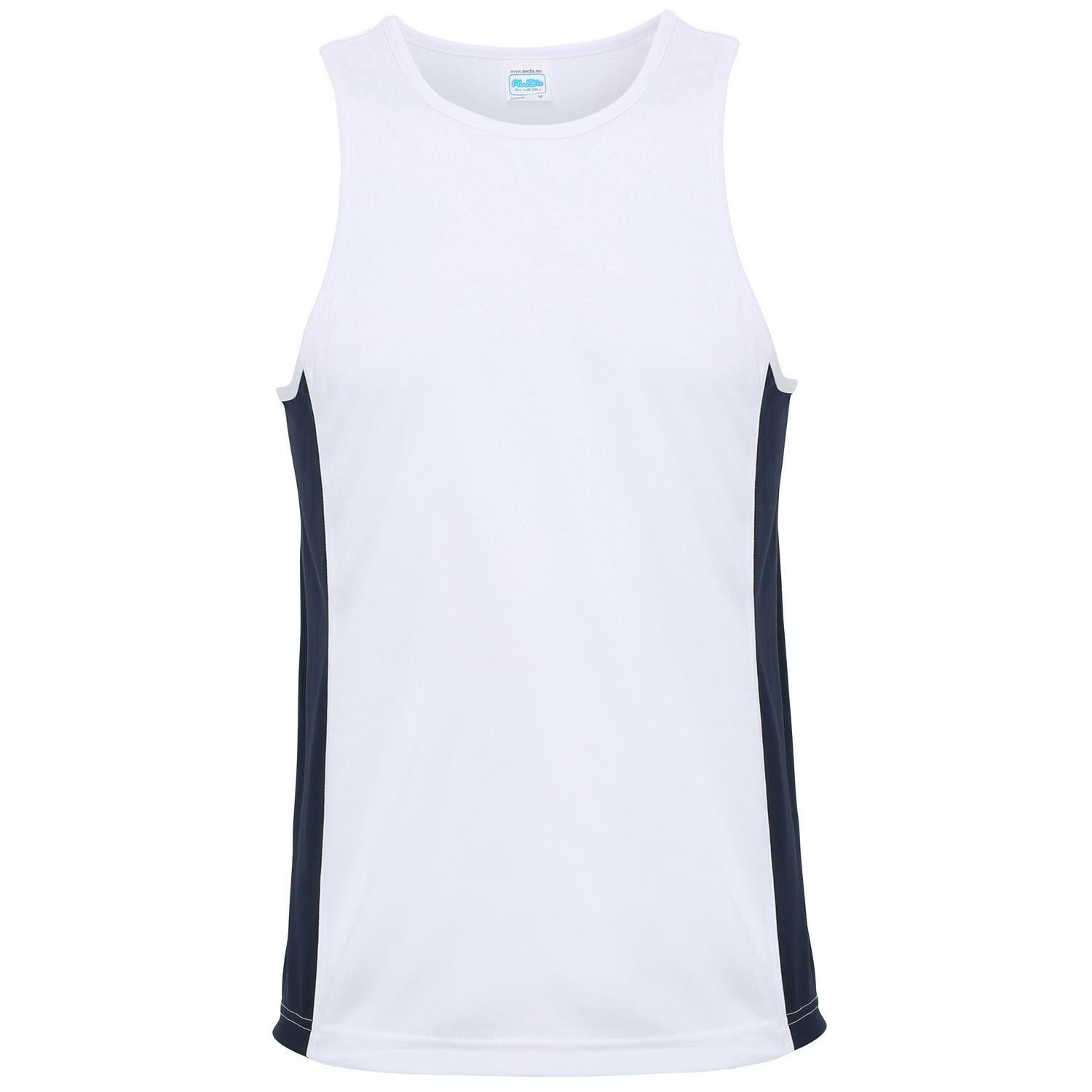AWDIS Just Cool Mens Contrast Sporty Vest