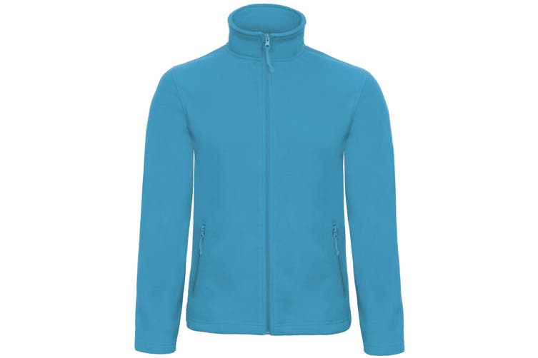 B&C Collection Mens ID 501 Microfleece Jacket (Atoll) (M)