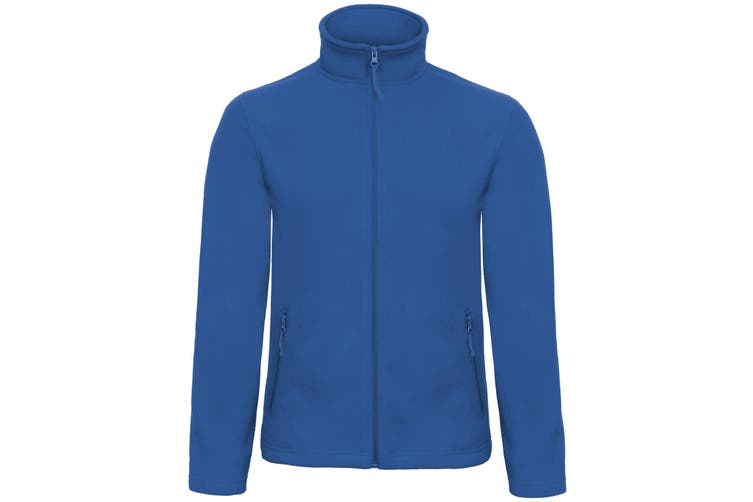 B&C Collection Mens ID 501 Microfleece Jacket (Royal Blue) (4XL)
