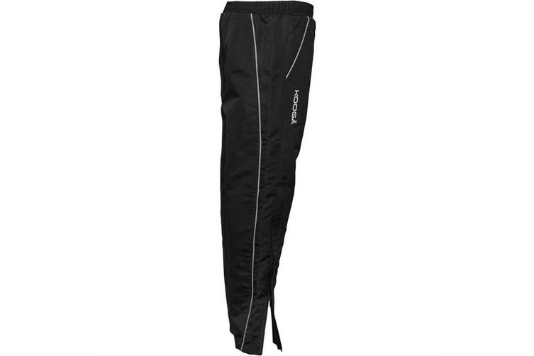 Kooga Childrens Boys Vortex II Tracksuit Bottoms (Black) (LGB (24 inch))