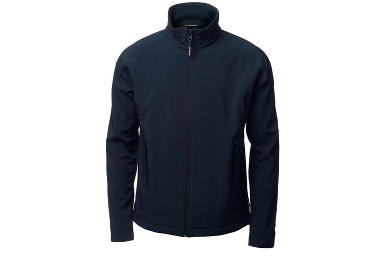 Nimbus Mens Duxbury Softshell Jacket (Navy) (L)