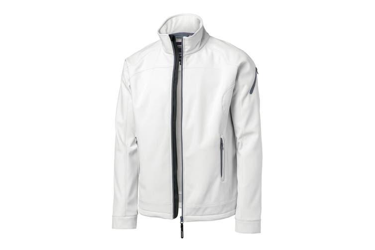 Nimbus Mens Duxbury Softshell Jacket (White) (S)