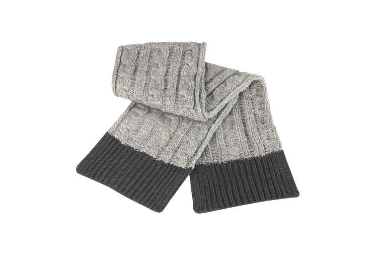Result Unisex Winter Essentials Shades of Grey Scarf (Grey) (One Size)