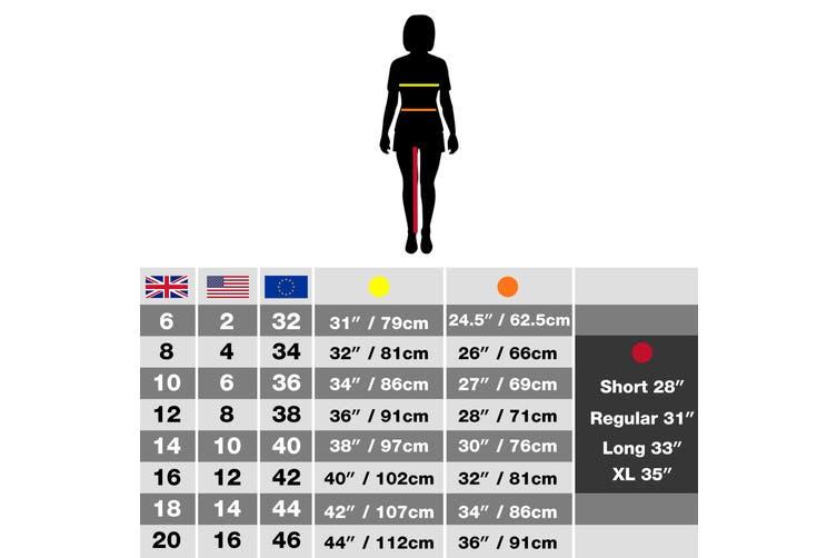 Craghoppers Womens/Ladies Lightweight Basecamp Microfleece FZ Full-Zip Jacket (Navy) (10)