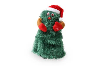 Christmas Shop Animated Dancing Christmas Tree (Green) (One size (28cm))