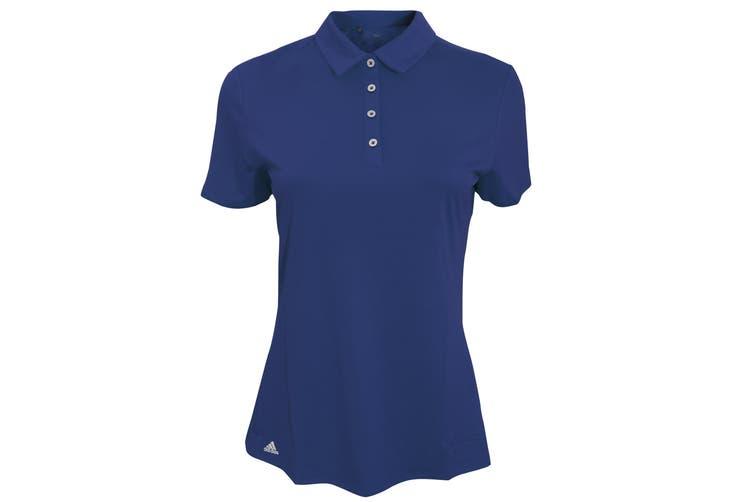 Adidas Teamwear Womens/Ladies Lightweight Short Sleeve Polo Shirt (Navy) (XL)