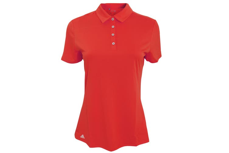 Adidas Teamwear Womens/Ladies Lightweight Short Sleeve Polo Shirt (Power Red) (L)