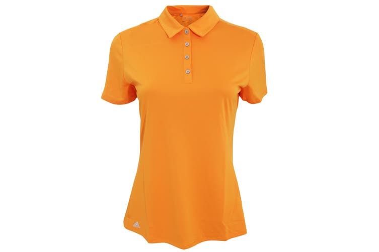 Adidas Teamwear Womens/Ladies Lightweight Short Sleeve Polo Shirt (Bright Orange) (XL)
