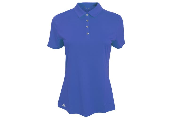 Adidas Teamwear Womens/Ladies Lightweight Short Sleeve Polo Shirt (EQT Blue) (XS)