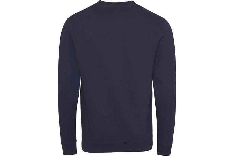 AWDis Academy Mens V Neck Jumper/Sweatshirt (Navy) (S)