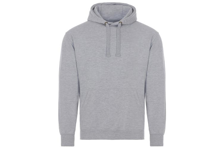 AWDis Just Hoods Adults Unisex Supersoft Hooded Sweatshirt/Hoodie (Grey) (2XL)