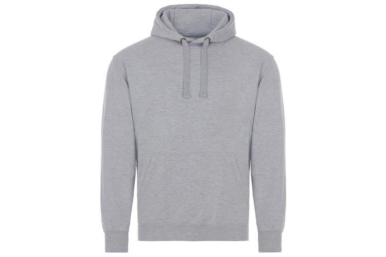 AWDis Just Hoods Adults Unisex Supersoft Hooded Sweatshirt/Hoodie (Grey) (XS)