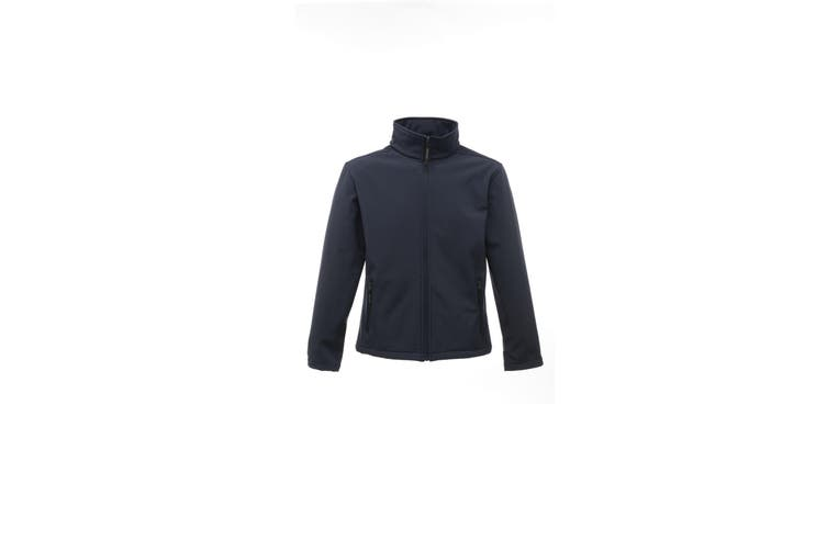 Regatta Classics Mens 3 Layer Softshell Jacket (Navy) (2XL)