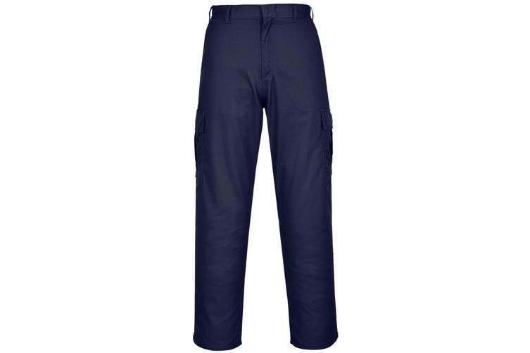 Portwest Mens Combat Work Trousers (Dark Navy) (42R)