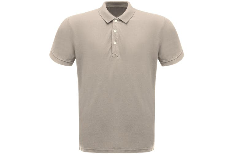 Regatta Classic Mens 65/35 Short Sleeve Polo Shirt (Dark Steel) (4XL)